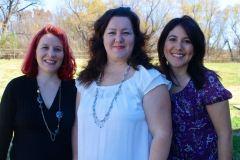 NextGen Homeschool authors Elizabeth, Rosanna, and Renee