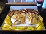 Raspberry baked brie appetizer