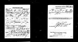 World War I Draft Registration Cards 19171918-22-1